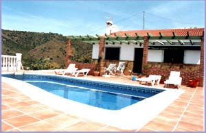 Villas and vacation rentals in Malaga/Nerja, Andalusia Spain
